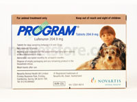Program Flea Treatment Tablets for Medium Dogs